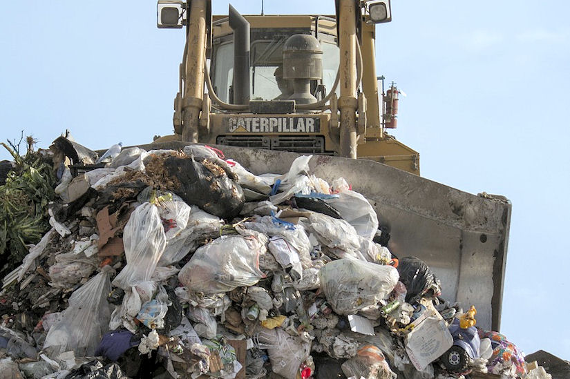otpad smetlište smeće