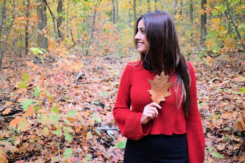 jesen djevojka