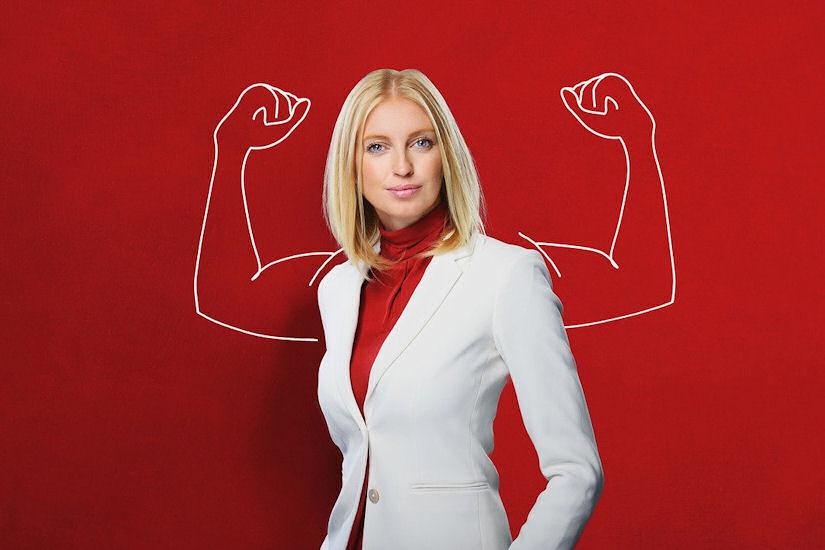 biznis žena snaga dan žena