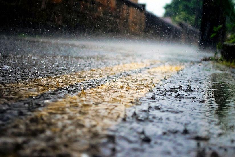 kiša cesta