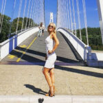 Poslije niza morskih destinacija, stigla 'kod nas doma'! Uršula Tolj jučer u Osijeku…